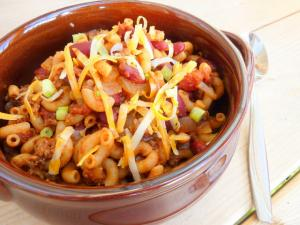 Pasta and Bean Skillet