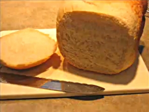 Homemade Country White Bread Using A Bread Maker