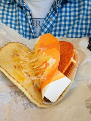 Taco Bell sells meat with cardboard