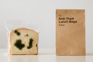 Anti Theft Lunch Bag for April Fool!