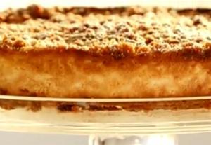 Baked Lemon Cheesecake with Sultana