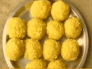 Soft Boondi Laddu