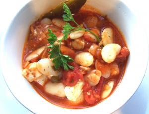 Rabbit and Bean Stew
