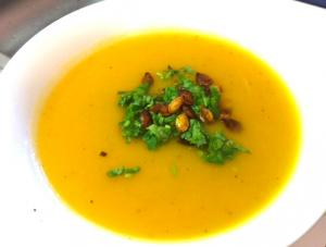 Carrot Soup ala Orange