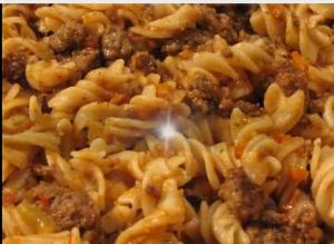 Pasta Bolognese Sauce