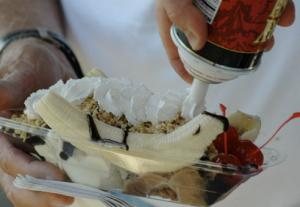 Banana Split is the classic desserts of all time.