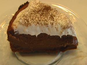 Betty's Special Occasion Chocolate Mousse Cake -- Mother's Day
