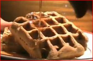 Maple Syrup and Waffles