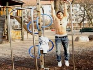 3 Different Leg Raises - Outdoor no Gym needed - Attila's 8-Pack Challenge 40/90