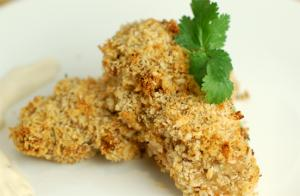 Fish Baked in Herb Crust