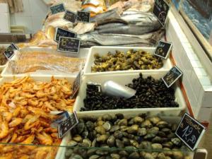 Types of sea foods