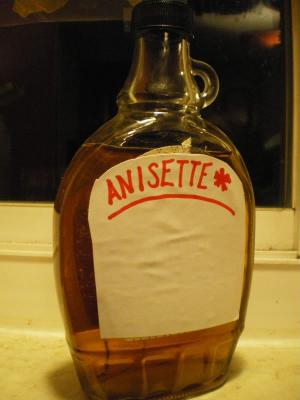 Celebrate the day with Anisette