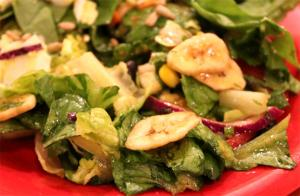 Banana Curried Salad