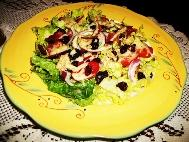 Romaine Cranberry Salad With Vidalia Dressing Recipe