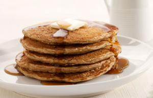 Oat Wheat Germ Pancakes