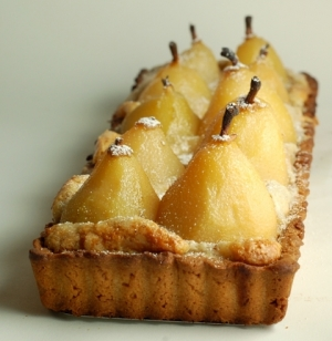 Pear tart os probably the most pear recipe