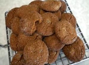 Double Ginger Cookies
