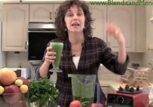 Sweet Vegetable and Parsley Anti Aging Smoothie
