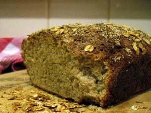 Pebble top Oatmeal Bread