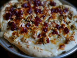 Double Dave's Thanksgiving Pizza