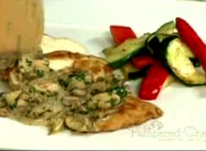 Sauteed Chicken With Mushroom Sauce