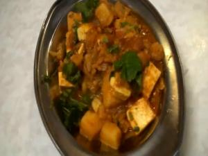 Paneer Vegetable Jalfrezi or Paneer Korma