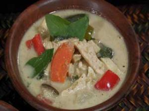 Delicious Green Curry Chicken