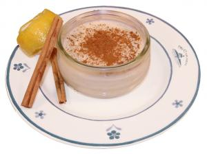 Arroz con Leche is a traditional Mexican rice pudding.