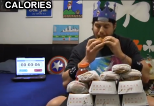 L A Beast's burger challenge