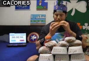 L A Beast's burger challenge