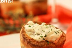 Christmas Party Food - Stuffed Yorkshire Pudding