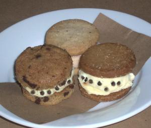Chocolate Chip Ice Cream Sandwiches