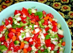 Tomato Pepper and Celery Relish