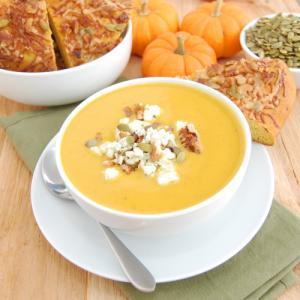 Low Fat Creamy Pumpkin Soup