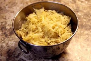 Overnight Sauerkraut Salad
