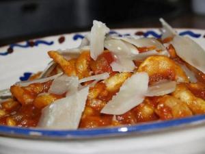 Pasta with Cajun Shrimp Jambalaya