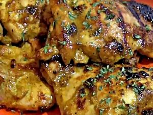 Honey Curry Chicken Thighs - Easy Weekday Dinner Idea