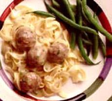 Meatballs in Dijon Sauce