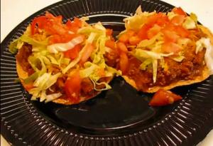 Super Quick Mexican Tostadas
