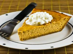 Sweet and crunchy Pumpkin Cheesecake