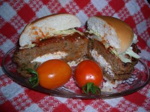 Ricotta Turkey Tomato Burgers