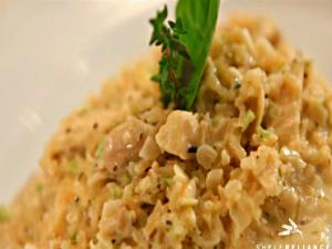 Creamy Chicken and Brown Rice