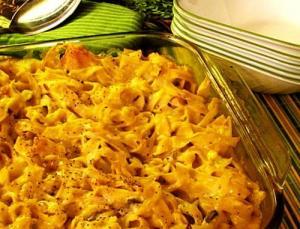 Noodles Almondine