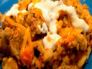 Mexican Hashbrown Casserole
