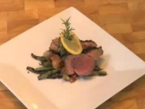 Lemon Garlic and Herb Crusted Leg of Lamb