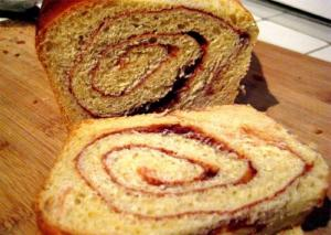 Apricot and Cinnamon Swirl