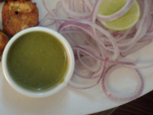 Mint and Coriander Green Chutney