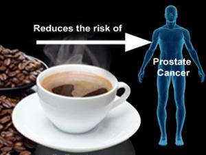 coffee reduces risk of prostate-cancer