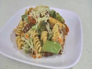 Vegetable Rotini Skillet Dinner