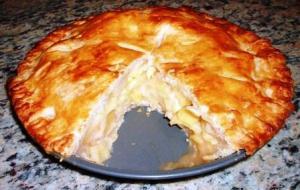 Souffleed Haddock Pie